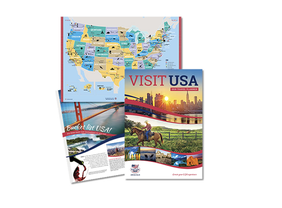 FREE USA Travel Planner   Extreme Couponing UK